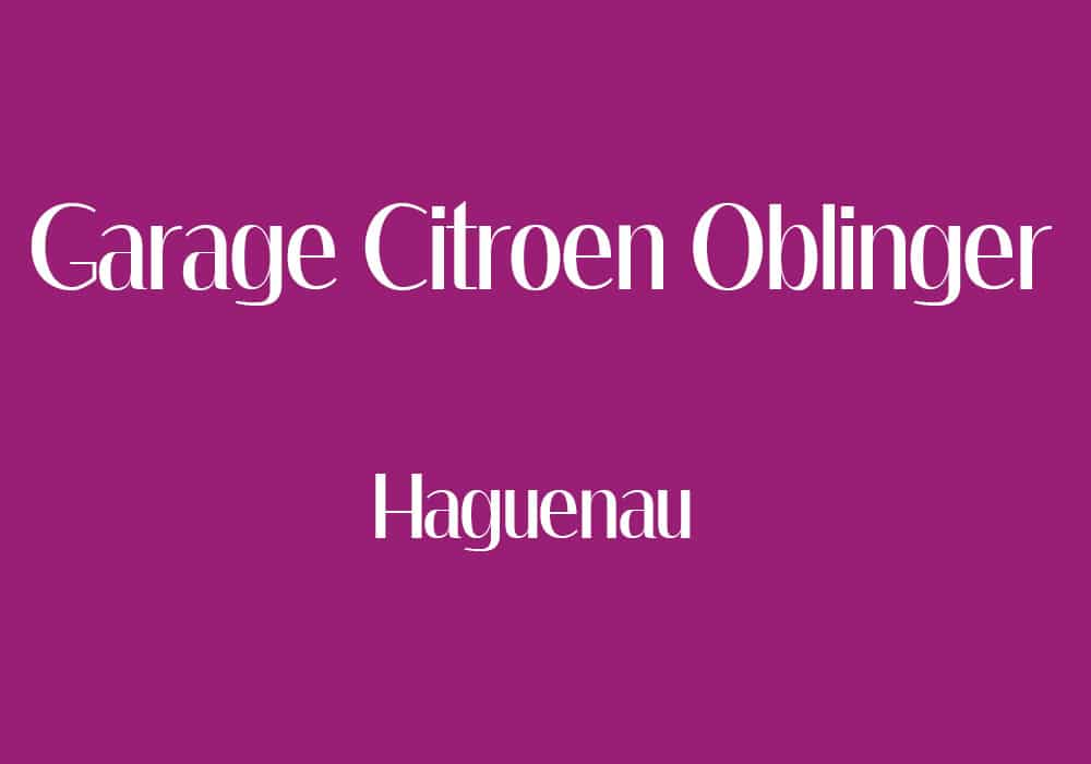 Adh rent garage citro n oblinger la cap alsace for Garage citroen vaison la romaine