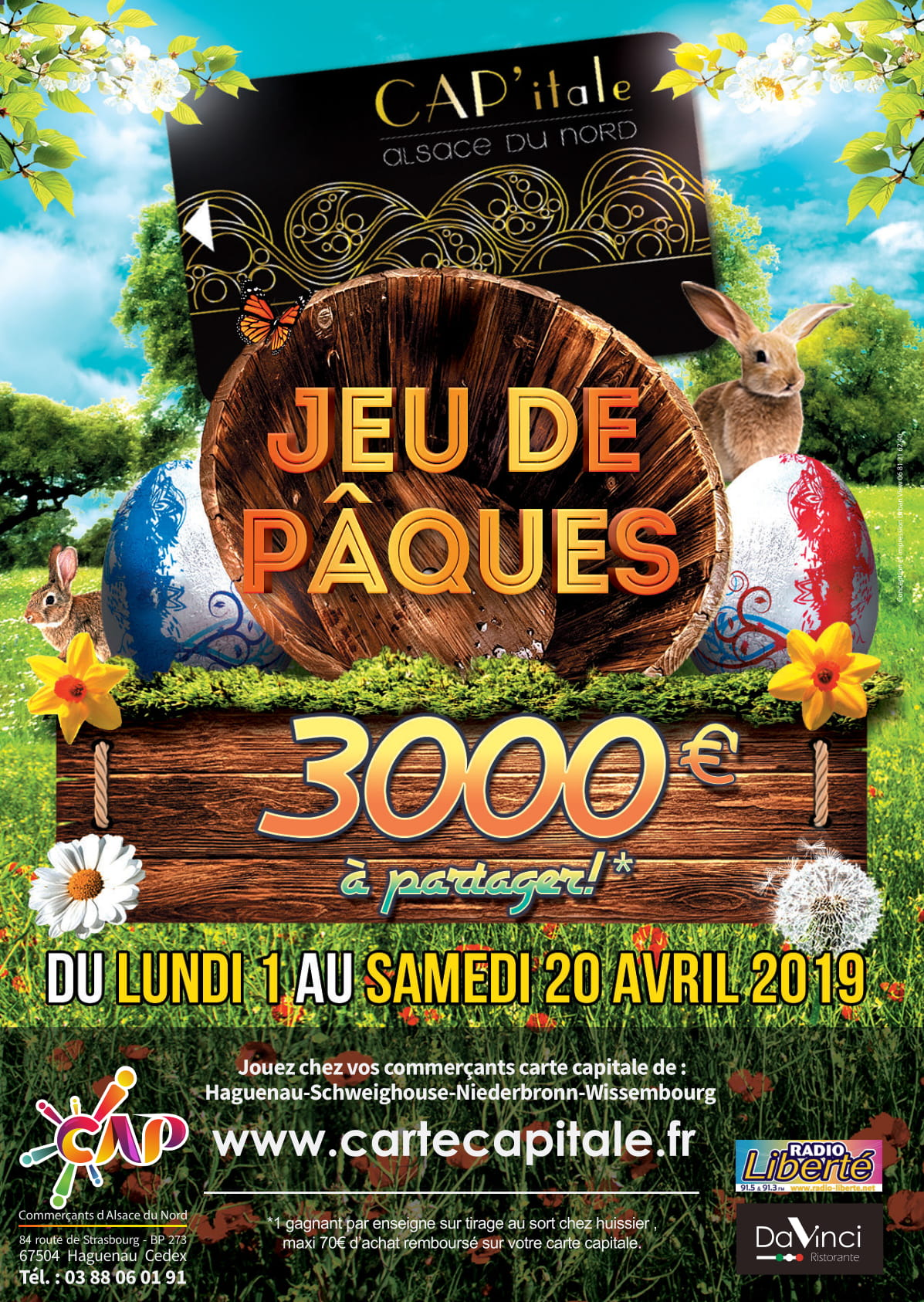 Jeu - Carte CAP'itale CAP Alsace