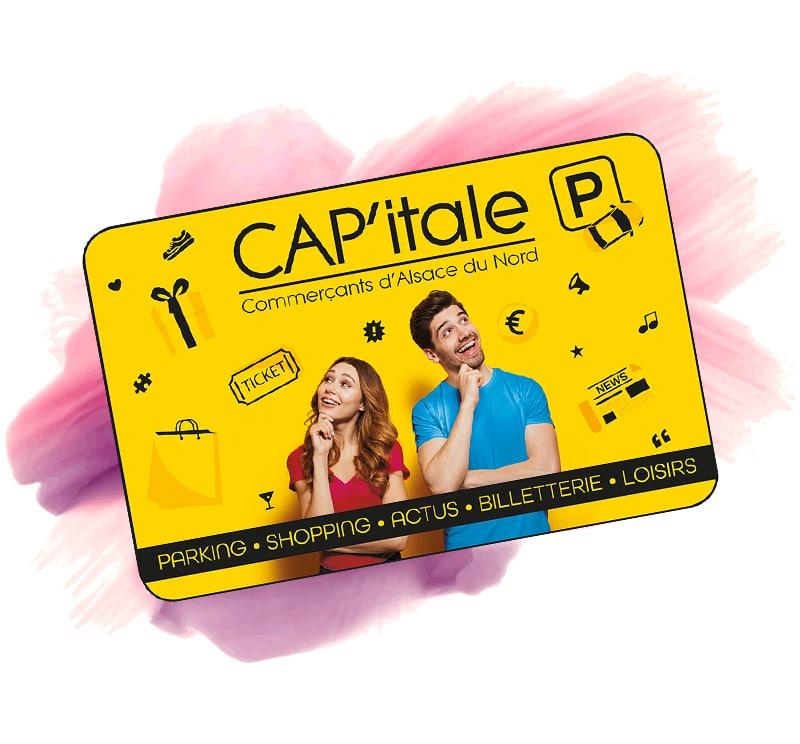 Carte CAP'Itale CAP Alsace