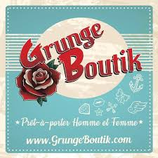 logo grunge boutik