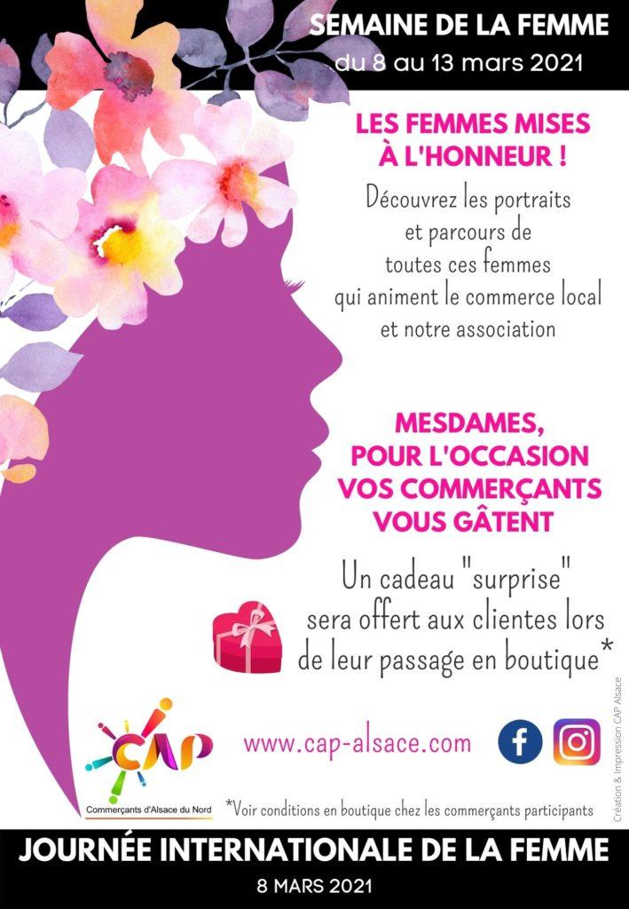 Semaine de la Femme à la CAP Alsace